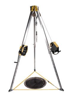 MSA Workman Confined Space Rescue Tripod